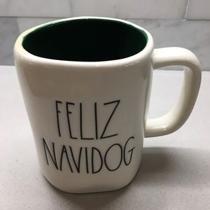 "Rae Dunn Dining - NWT Rae Dunn ""FELIZ NAVIDOG"" Mug!"